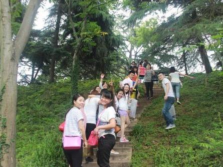 12月09日浪漫相约森林公园游玩
