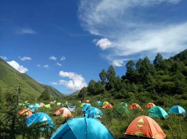 6月8号鹧鸪山两日露营,一起亲历自然
