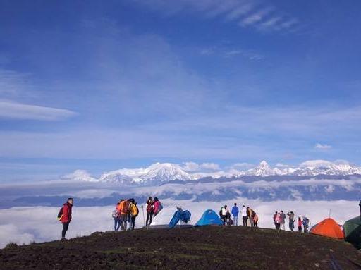 端午第三期红岩顶徒步爬山,最美的云海天堂