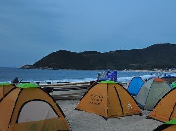 4月29日惠州南湾岛露营看日出