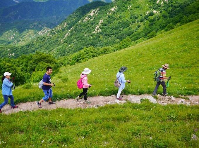 周日徒步 南宝山穿越火井镇 徒步1日游