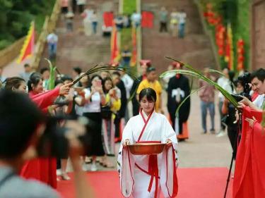 2017丁酉年白沙镇端午大型祭祀曲原活动