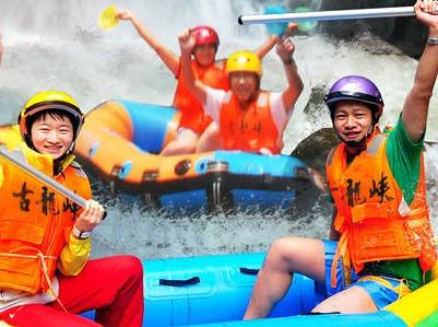 7月2日古龙峡漂流+船游小北江