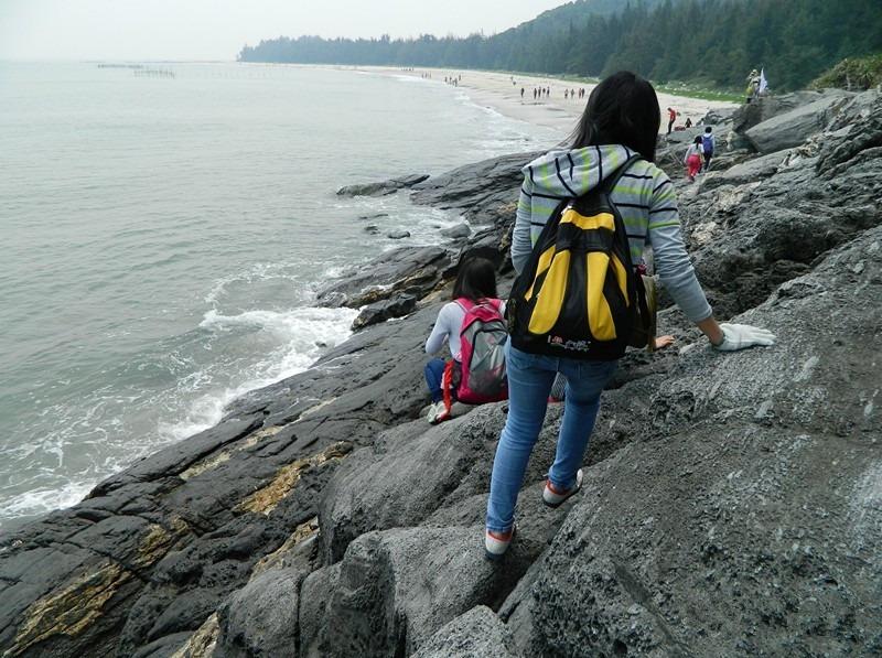 9月8日惠东黑排角穿越,赏无敌海景