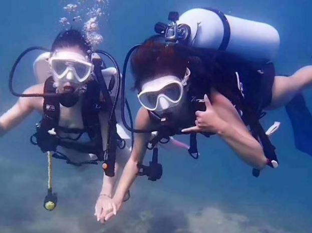 5月19日,熊猫黄金海岸野炊,潜水