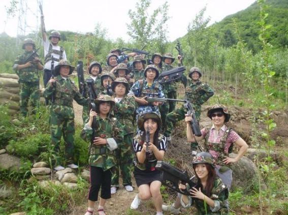 4月7日上海真人CS野战
