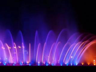 铁岭出发,抚顺月牙岛公园音乐喷泉