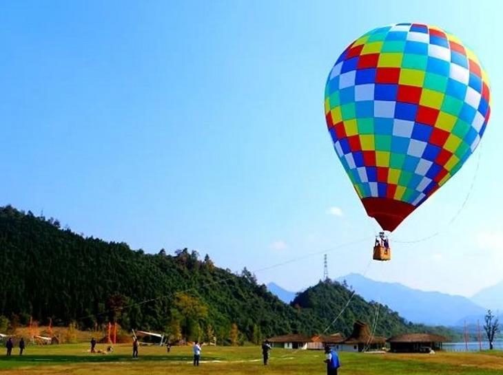 五一   临安风之谷、热气球、滑板车、
