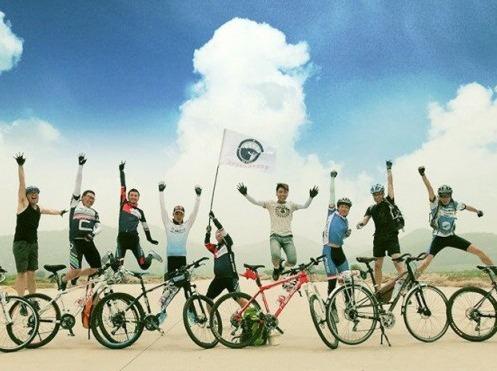周六安庆新洲环线休闲骑行  中午沙滩烧烤