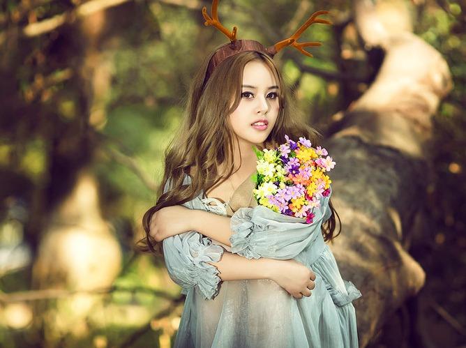林中天使——森女系摄影活动