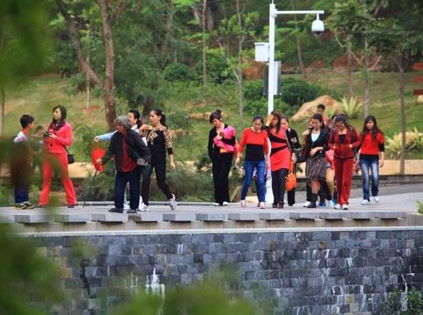 8月19日旗峰公园游玩