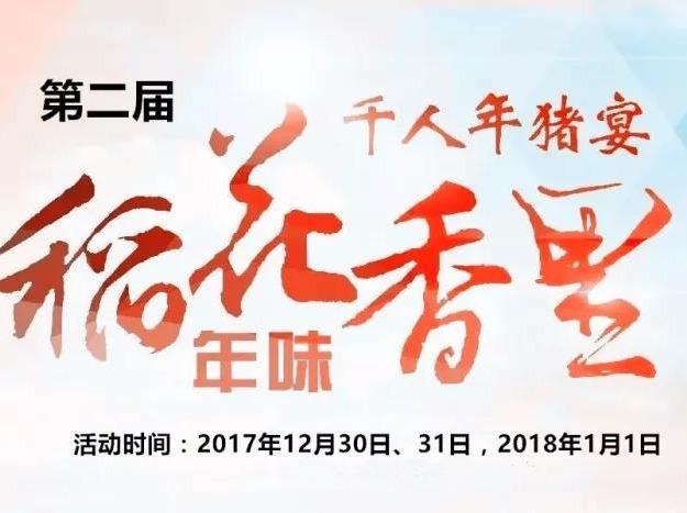 宁乡·年味稻花香里·千人年猪宴一日游
