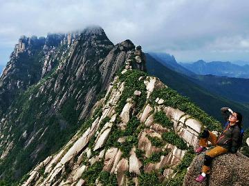国庆灵山穿越