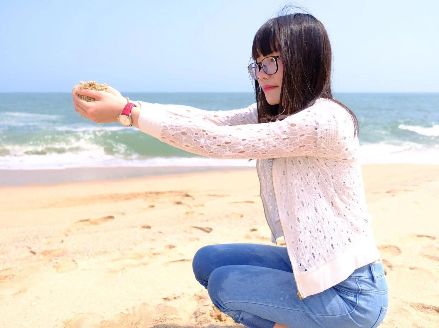 4月6日 台山去那琴湾海,海边徒步,