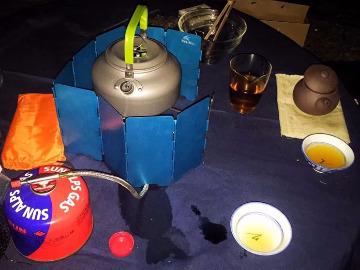 周四岳麓山蟒蛇洞煮茶