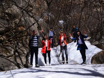 怀柔后山铺-云蒙山一日徒步滑冰穿越活动