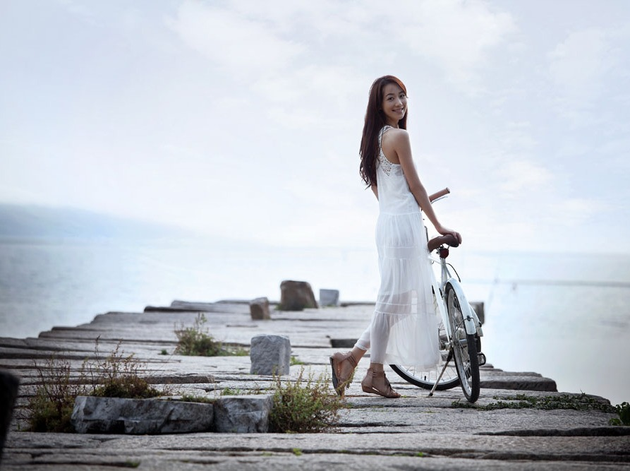 人像摄影主题,深圳杨梅坑拍摄