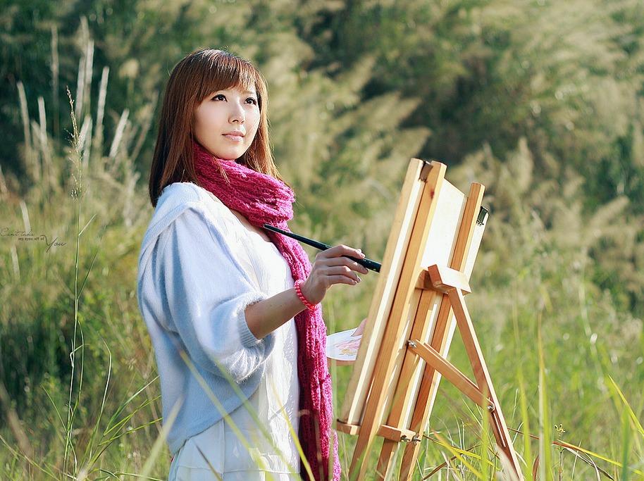美术人像主题拍摄活动