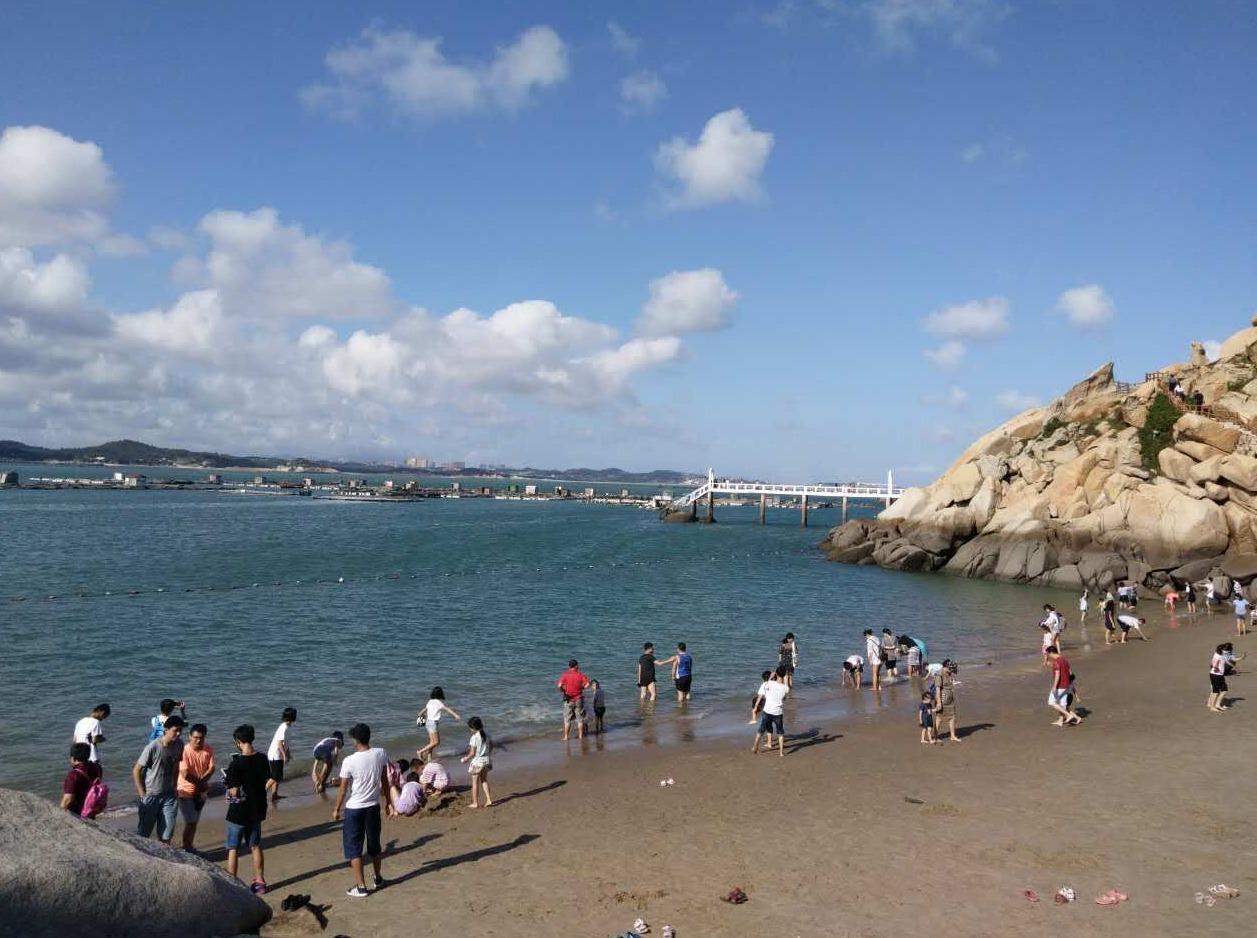平潭岛民宿体验沙滩HAPPY捕鱼两日游
