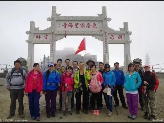 端午节五台山大朝台 徒步天堂 云端的佛国