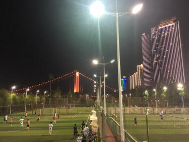 11.11周一晚6:30汉阳江滩足球赛
