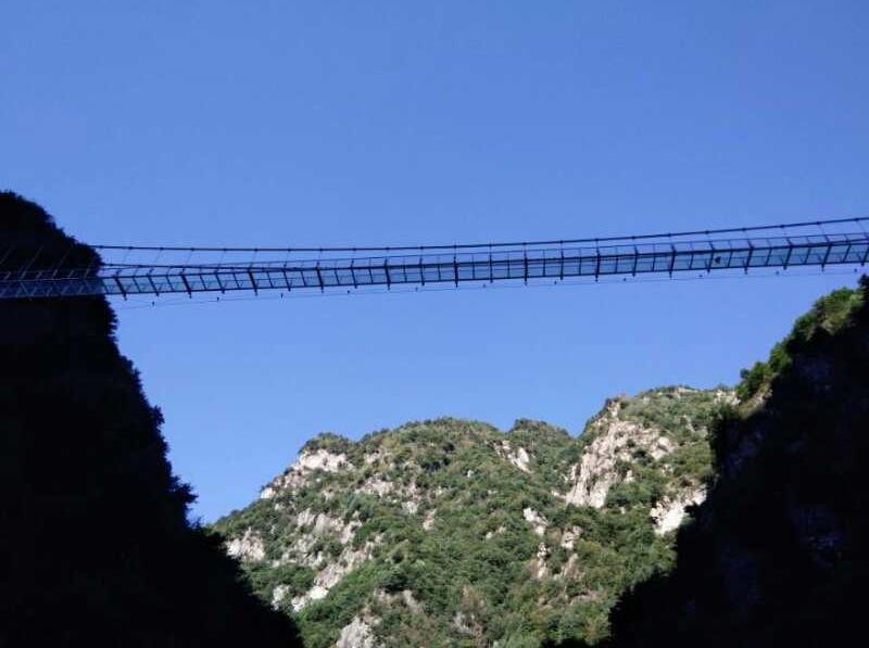 感受高空半悬玻璃第一桥-大敦峡一日活动
