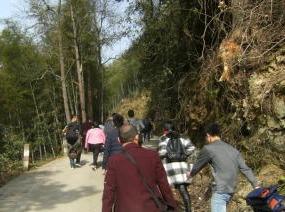 徒步穿越衡永古道熊罴岭(4月21日)