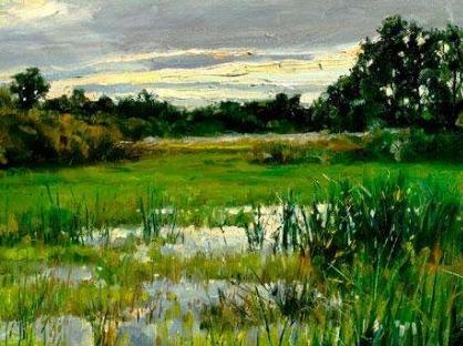 南湖公园画画写生
