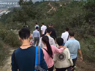 4月29日苏州灵树爬山活动