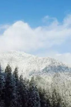 徒步鸡冠山,这里是雪的世界