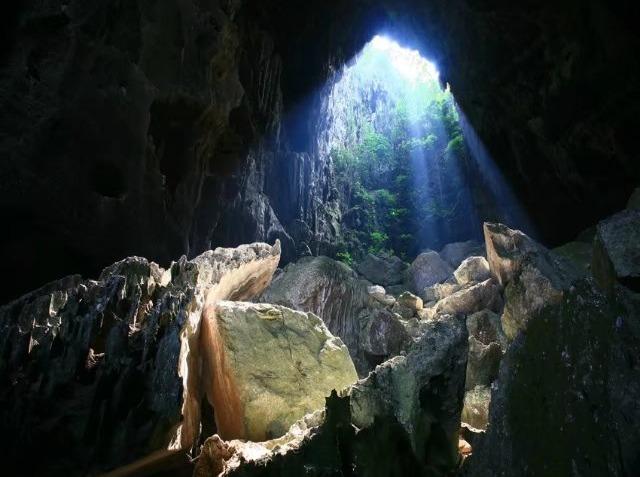 7月6号隆安仙缘谷爬山探洞泡水一日游