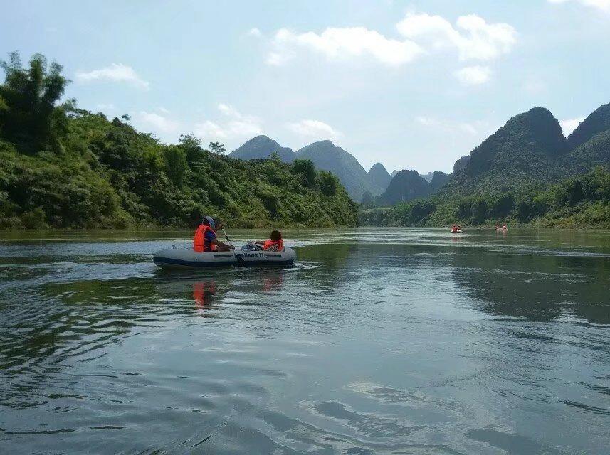 6月10号大化—都安百里画廊红水河漂流
