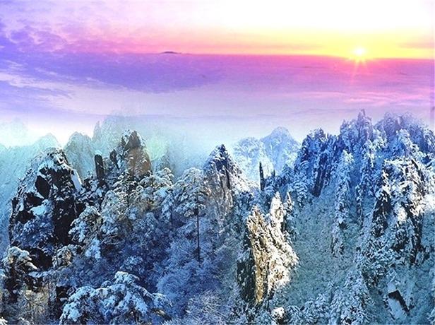 12.22-23冬日黄山,赏雾凇、观云海