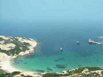 庙湾岛摄影潜水徒步露营