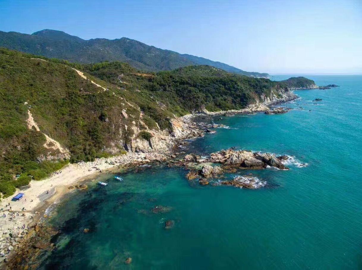 深圳最美东西冲海岸线穿越、听海涛声一日游