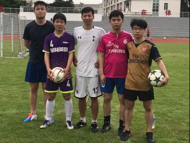 5月 足球训练 端午节快乐