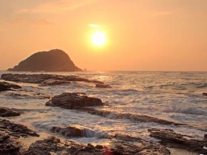 周六漫步大美黑排角海岸