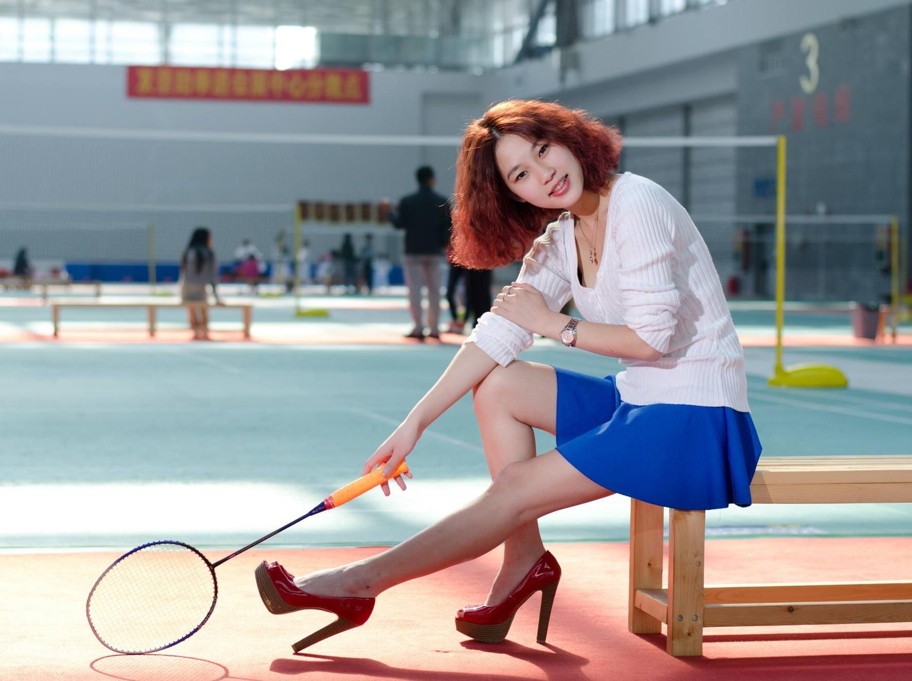6月16日星期天 川大磨子桥羽毛球活动