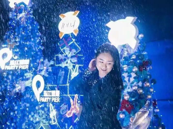 2019圣诞节珠江荧光夜徒派对