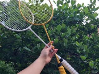 ???一起来羽毛球吧,不服来战!