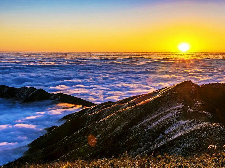 跨年达瓦更扎 漫步云端 触碰星空