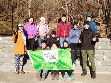 周日3月11日棠梨西街至花红沟徒步爬山