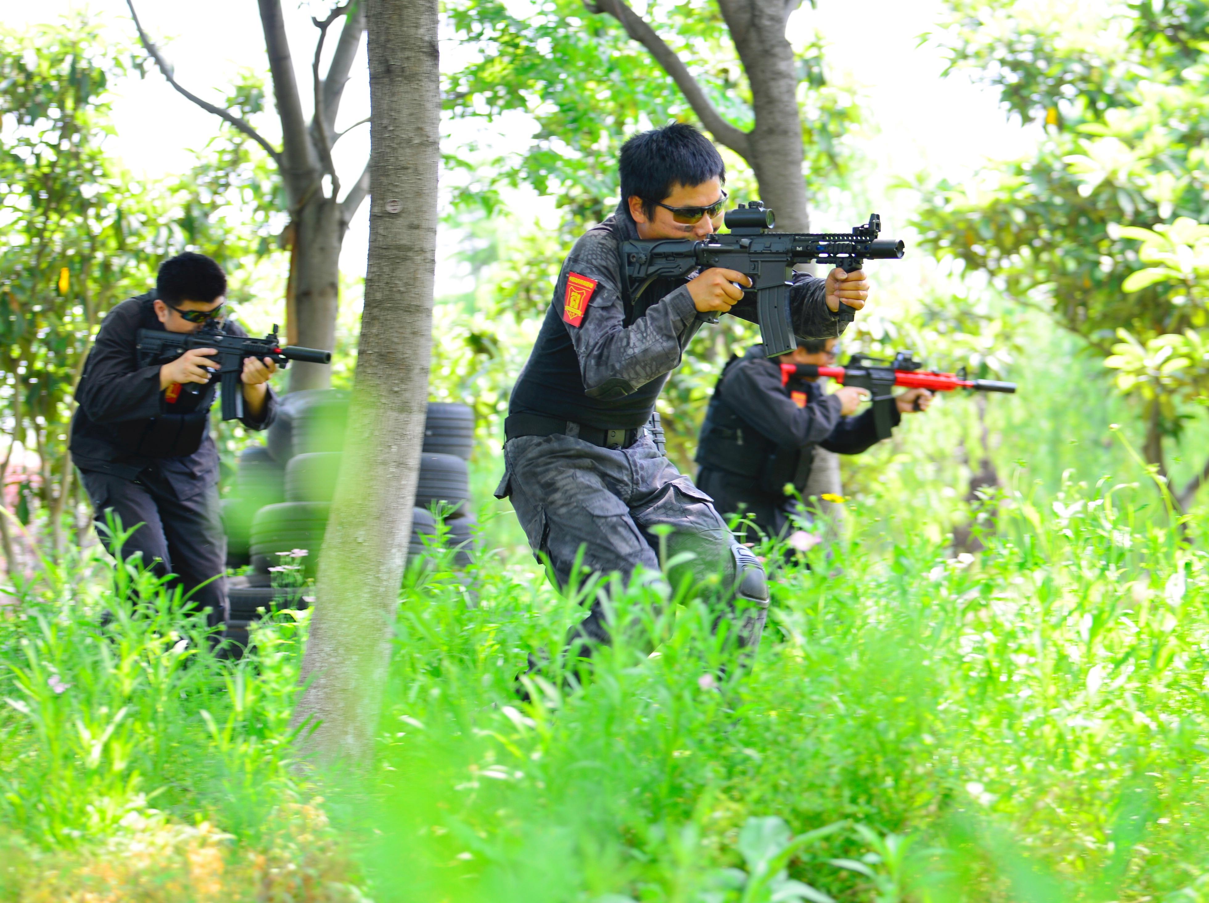 水弹真人CS战队成员海选活动(组队吃鸡)