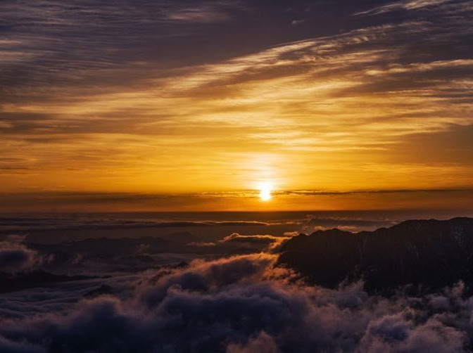 雲中的舞台—二郎山红岩顶