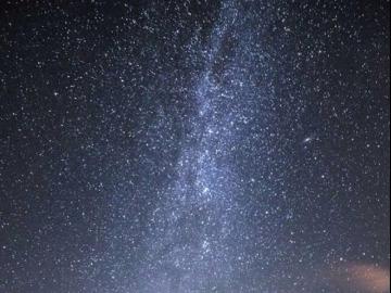 上山看星星