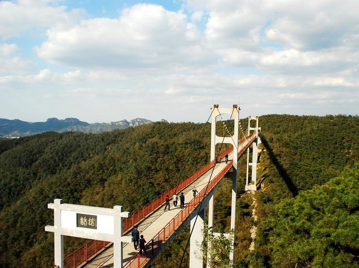 5.27蒿滩-鹊桥-长城岭休闲一日游!