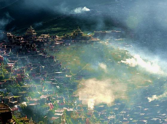 让心灵去旅行,川西色达、稻城在召唤