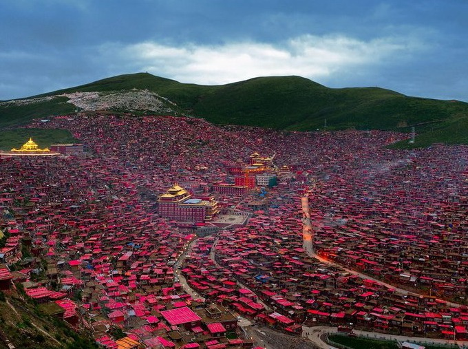 丹巴、色达,康巴藏区,谜之风情