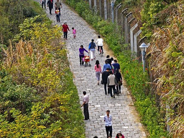 18年9月1号周六下午梅林后山绿道徒步