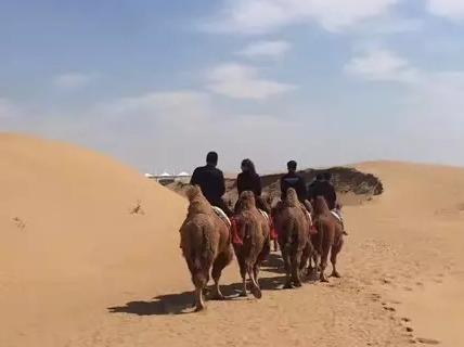 中秋库不齐沙漠徒步穿越